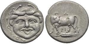 1 Hemidrachm Antikes Griechenland (1100BC-330) Silber