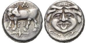 1 Hemidrachm Ancient Greece (1100BC-330) Silver