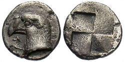 1 Hemiobol Antigua Grecia (1100BC-330) Plata