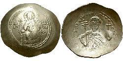 1 Histamenon Imperio bizantino (330-1453) Électrum Alejo I Comneno (1056- 1118)
