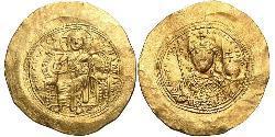 1 Histamenon Византийская империя (330-1453) Золото Константин IX Мономах (1000-1055)