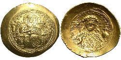 1 Histamenon Byzantinisches Reich (330-1453) Gold Constantine IX Monomachus (1000-1055)