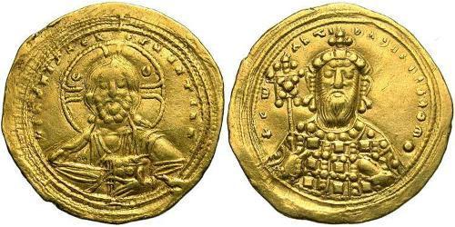 1 Histamenon Byzantinisches Reich (330-1453) Gold Konstantin VIII (960-1028)