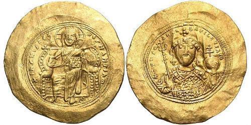 1 Histamenon Imperio bizantino (330-1453) Oro Constantino IX Monómaco (1000-1055)