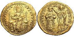1 Histamenon Impero bizantino (330-1453) Oro Romano III Argiro (968-1034)