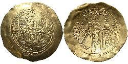 1 Hyperpyron Византийская империя (330-1453) Золото Мануи́л I Комни́н (1118-1180)
