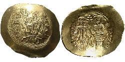 1 Hyperpyron Byzantine Empire (330-1453) Gold Alexios III Angelos(1153 -1211)