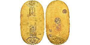 1 Koban Сёгунат Токугава (1600-1868) Золото