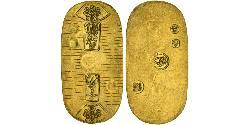 1 Koban Tokugawa shogunate (1600-1868) Gold