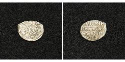1 Kopeke Zarentum Russland (1547-1721) Silber