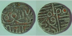 1 Kori Navanagar (1570 - 1850) / Ancient India Biglione Argento