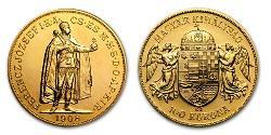 1 Korona Kingdom of Hungary (1000-1918) Gold