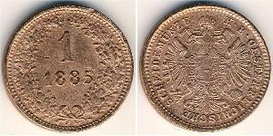 1 Kreuzer Austria-Hungary (1867-1918) Copper