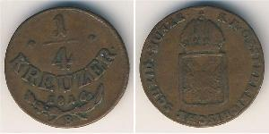 1 Kreuzer Austrian Empire (1804-1867) Copper
