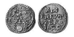 1 Kreuzer Duchy of Bavaria (907 - 1623) Copper Maximilian I, Elector of Bavaria (1573 – 1651)