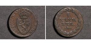 1 Kreuzer Duché de Nassau (1806 - 1866) Cuivre