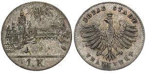 1 Kreuzer Alemania Plata