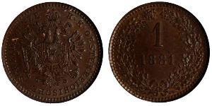 1 Kreuzer Impero austriaco (1804-1867) Rame