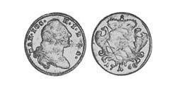 1 Kreuzer Electorate of Bavaria (1623 - 1806) Silver Maximilian III Joseph, Elector of Bavaria (1727 – 1777)