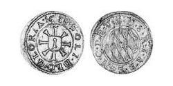 1 Kreuzer Electorate of Bavaria (1623 - 1806) Silver