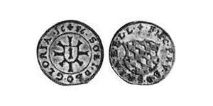 1 Kreuzer Electorate of Bavaria (1623 - 1806) Silver Ferdinand Maria, Elector of Bavaria (1636 – 1679)