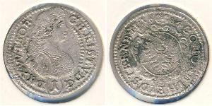 1 Kreuzer Kingdom of Württemberg (1806-1918) Silver
