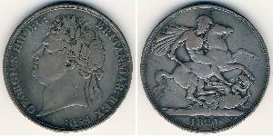 1 Krone 英国 銀