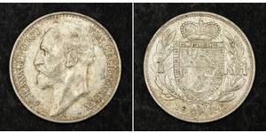 1 Krone Liechtenstein Argent Johann II, Prince of Liechtenstein (1840-1929)