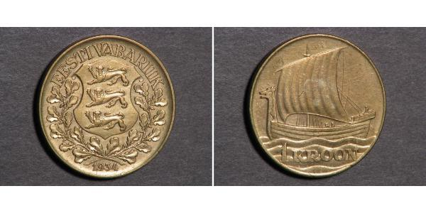 1 Krone Estonia (Republic) Bronze