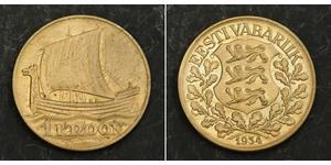 1 Krone Estonia (Republic) Bronzo