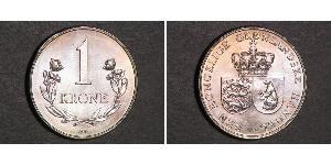 1 Krone Greenland Copper/Nickel