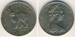 1 Krone Isle of Man Copper/Nickel