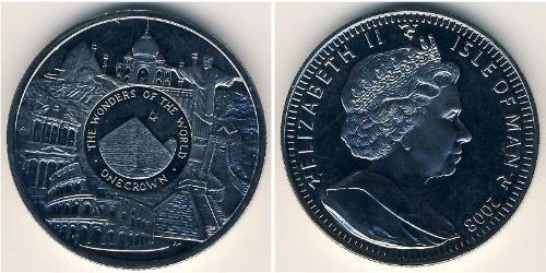 1 Krone Isle of Man Copper/Nickel