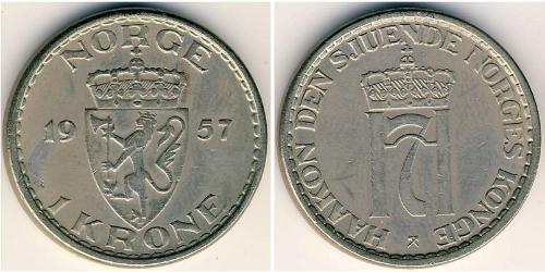 1 Krone Norway Copper/Nickel