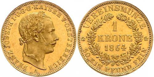 1 Krone Austrian Empire (1804-1867) Gold