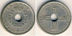 1 Krone Noruega Níquel/Cobre