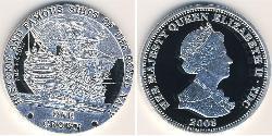 1 Krone Tristan da Cunha Silber Elizabeth II (1926-)