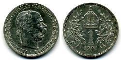1 Krone Austria-Hungary (1867-1918) Silver