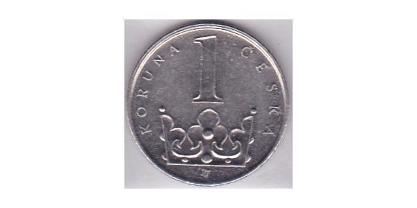 1 Krone Czechoslovakia (1918-1992) Steel/Nickel