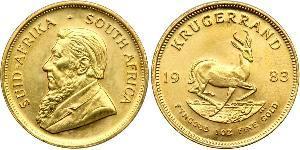 1 Krugerrand Південно-Африканська Республіка Золото Поль Крюгер (1825 - 1904)