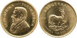 1 Krugerrand Südafrika Gold Paul Kruger (1825 - 1904)