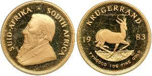 1 Krugerrand South Africa Gold Paul Kruger (1825 - 1904)