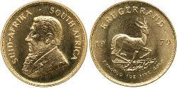 1 Krugerrand Sudáfrica Oro Paul Kruger (1825 - 1904)