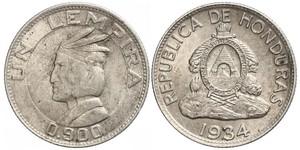 1 Lempira Honduras Argent