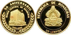 1 Lempira Honduras Gold