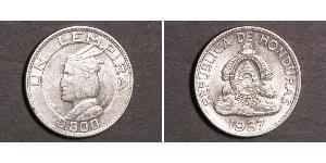 1 Lempira Honduras Silber