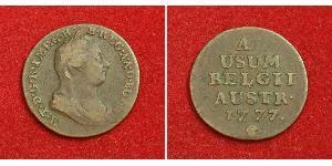 1 Liard Austrian Netherlands (1713-1795) Copper Maria Theresa of Austria (1717 - 1780)
