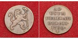 1 Liard Belgium Copper