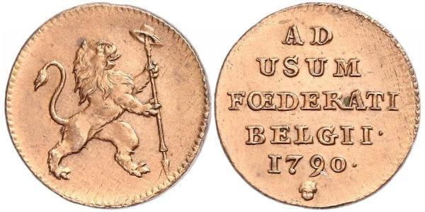 1 Liard Belgien Kupfer