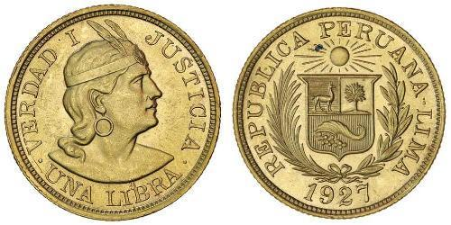 1 Libra 秘鲁 金